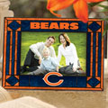 "Chicago Bears NFL 6.5"" x 9"" Horizontal Art-Glass Frame"