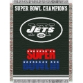"New York Jets NFL ""Commemorative"" 48"" x 60"" Tapestry Throw"