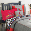 St. Louis Cardinals Twin Size Sheets Set