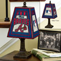 Atlanta Braves MLB Art Glass Table Lamp