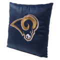 "St. Louis Rams NFL 16"" Embroidered Plush Pillow with Applique"