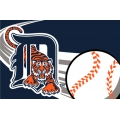 "Detroit Tigers MLB 20"" x 30"" Acrylic Tufted Rug"