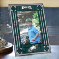 "Philadelphia Eagles NFL 9"" x 6.5"" Vertical Art-Glass Frame"