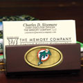 Miami Dolphins NFL Business Card Holder