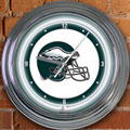 "Philadelphia Eagles NFL 15"" Neon Wall Clock"
