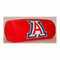 "Arizona Wildcats NCAA College 14"" x 8"" Beaded Spandex Bolster Pillow"