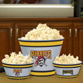 Pittsburgh Pirates MLB Melamine 3 Bowl Serving Set