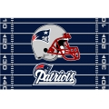 "New England Patriots NFL 39"" x 59"" Tufted Rug"