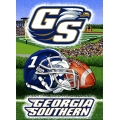 "Georgia Southern Eagles NCAA College ""Home Field Advantage"" 48""x 60"" Tapestry Throw"