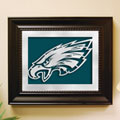 Philadelphia Eagles NFL Laser Cut Framed Logo Wall Art