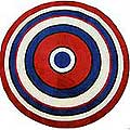 "Concentric 2 Rug (51"" Round)"