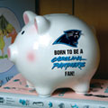 Carolina Panthers NFL Ceramic Piggy Bank