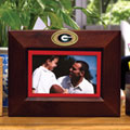 "Georgia UGA Bulldogs NCAA College 8"" x 10"" Brown Horizontal Picture Frame"