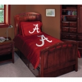 "Alabama Crimson Tide NCAA College Twin Comforter Set 63"" x 86"""
