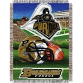 "Purdue Boilermakers NCAA College ""Home Field Advantage"" 48""x 60"" Tapestry Throw"