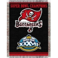 "Tampa Bay Buccaneers NFL ""Commemorative"" 48"" x 60"" Tapestry Throw"