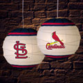 "St. Louis Cardinals MLB 18"" Rice Paper Lamp"
