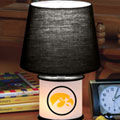 Iowa Hawkeyes NCAA College Accent Table Lamp