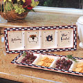 Auburn Tigers NCAA College Gameday Ceramic Relish Tray