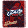 "Cleveland Cavaliers NBA 48"" x 60"" Triple Woven Jacquard Throw"
