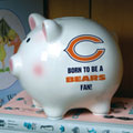 Chicago Bears NFL Ceramic Piggy Bank