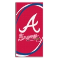 "Atlanta Braves MLB 30"" x 60"" Terry Beach Towel"