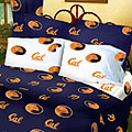 Berkley Golden Bears 100% Cotton Sateen Queen Comforter Set