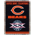 "Chicago Bears NFL ""Commemorative"" 48"" x 60"" Tapestry Throw"
