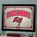 Tampa Bay Buccaneers NFL Framed Glass Mirror