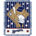 "Milwaukee Brewers MLB Baby 36""x 46"" Triple Woven Jacquard Throw"