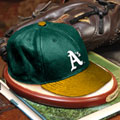 Oakland Athletics MLB Baseball Cap Figurine