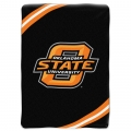 "Oklahoma State Cowboys College ""Force"" 60"" x 80"" Super Plush Throw"