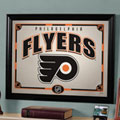 Philadelphia Flyers NHL Framed Glass Mirror