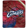 "Cleveland Cavaliers NBA ""Reflect"" 50"" x 60"" Super Plush Throw"