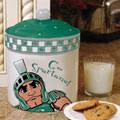 Michigan State Spartans NCAA College Gameday Ceramic Cookie Jar