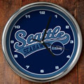 "Seattle Seahawks NFL 12"" Chrome Wall Clock"
