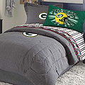 Green Bay Packers NFL Team Denim Queen Comforter / Sheet Set