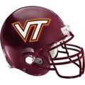 Virginia Tech Helmet Fathead NCAA Wall Graphic