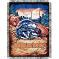 "Chicago Bears NFL ""Home Field Advantage"" 48"" x 60"" Tapestry Throw"