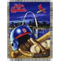 "St. Louis Cardinals MLB ""Home Field Advantage"" 48"" x 60"" Tapestry Throw"