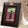 "Cincinnati Reds MLB 10"" x 8"" Black Vertical Picture Frame"