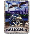 "Seattle Seahawks NFL ""Home Field Advantage"" 48"" x 60"" Tapestry Throw"