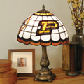 Purdue Boilermakers NCAA College Stained Glass Tiffany Table Lamp
