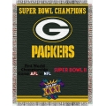 "Green Bay Packers NFL ""Commemorative"" 48"" x 60"" Tapestry Throw"