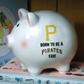 Pittsburgh Pirates MLB Ceramic Piggy Bank