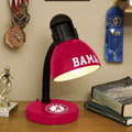 Alabama Crimson Tide NCAA College Desk Lamp