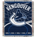 "Vancouver Canucks NHL 48"" x 60"" Triple Woven Jacquard Throw"