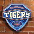 Auburn Tigers NCAA College Neon Shield Wall Lamp