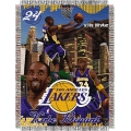 "Kobe Bryant NBA ""Players"" 48"" x 60"" Tapestry Throw"