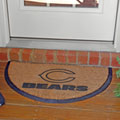 Chicago Bears NFL Half Moon Outdoor Door Mat